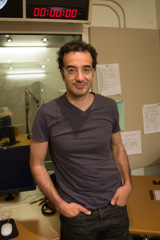 Jad Abumrad in the Radiolab Studio