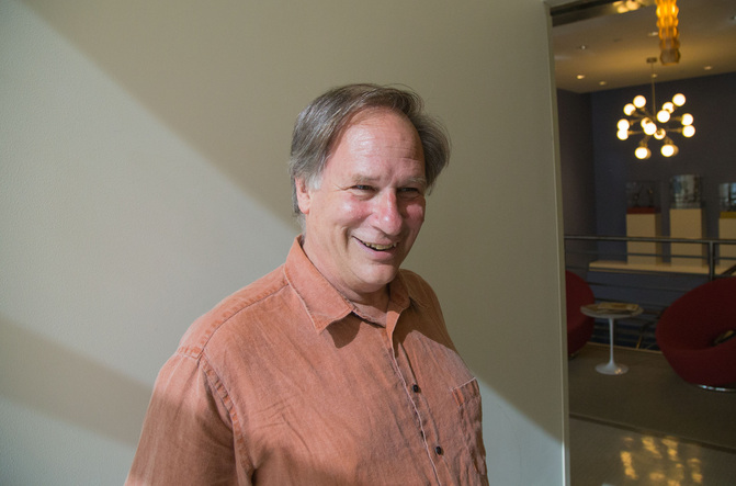 Radiolab's Robert Krulwich during a moment at WNYC